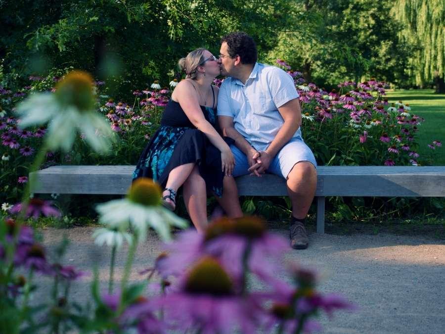 Letní focení párů
