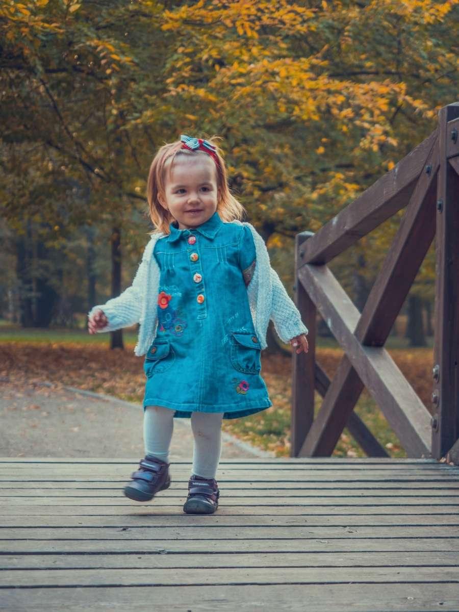 Outdoorové focení dětí