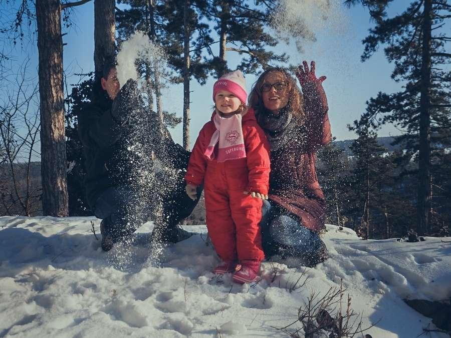 Focení rodiny s dětmi