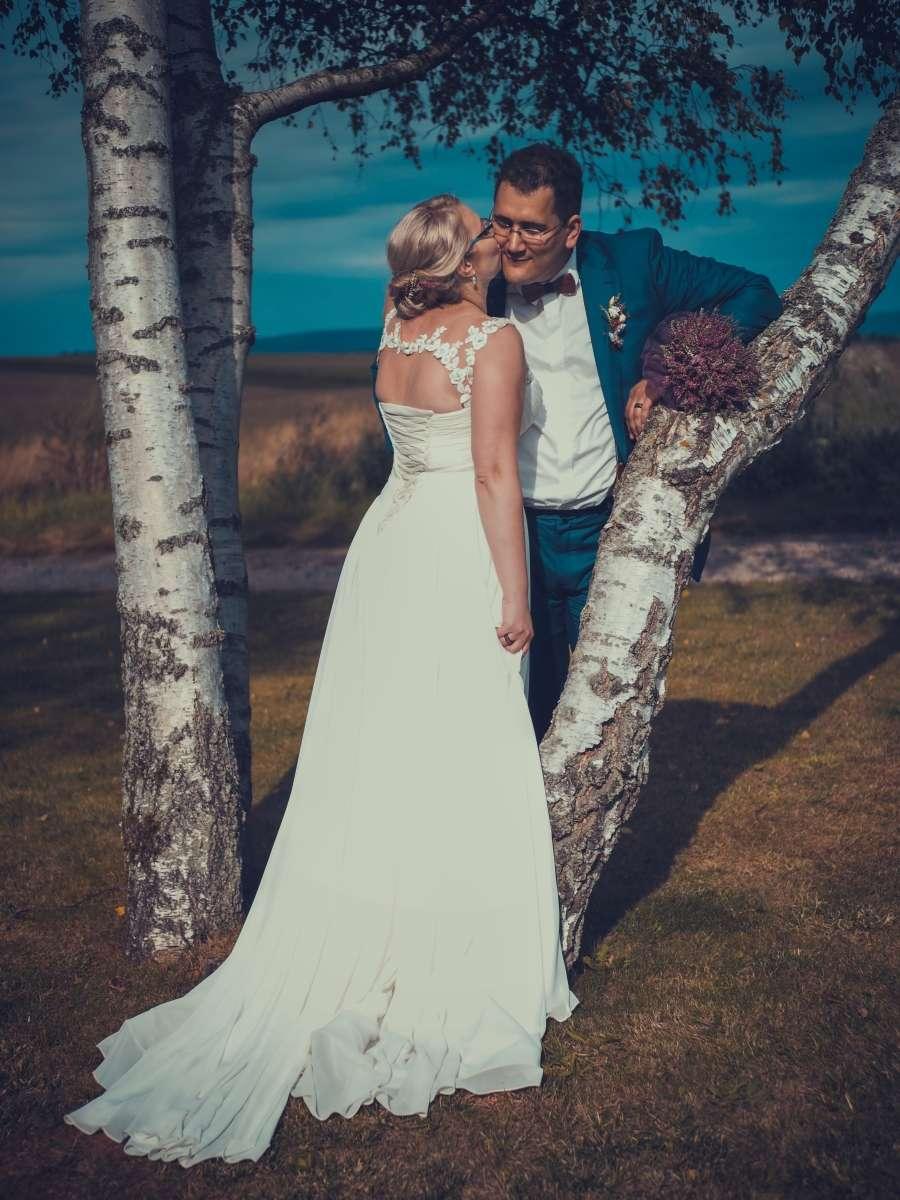 Focení nevěsty a ženicha v přírodě