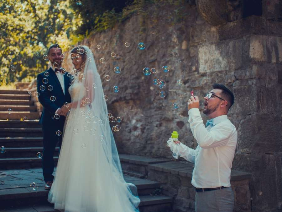 Focení letní svatby Choltice